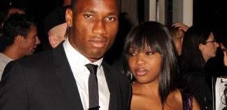 Didier Drogba and Lalla