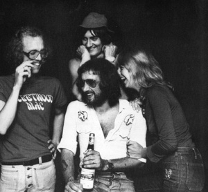 Fleetwood Mac circa Heroes Are Hard To Find Band: Bob Welch, John McVie, Mick Fleetwood and Christine McVie.