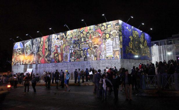 Pavel Égüez, Grito de la Memoria / 'Scream of the excluded', Quito, 2014.