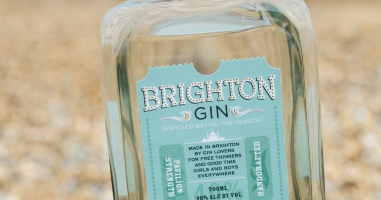 Brighton Gin – pretty to look at beautiful to drink
