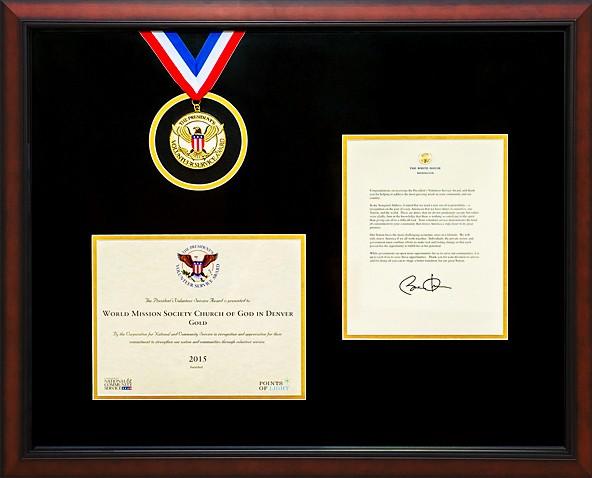 World Mission Society Church of God Presidential Award 2015