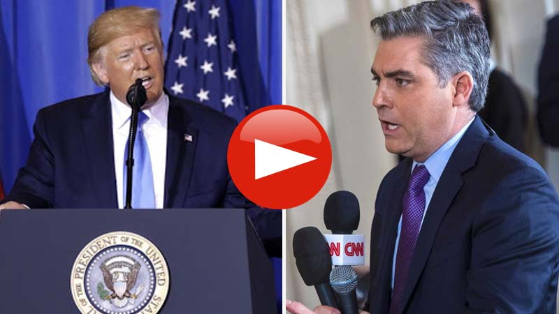 President Trump Mocks CNN Jim Acosta At A G20 News Conference