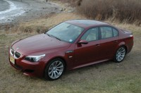 Open the door and the new M5 tells it like it is: BLING, BLING!