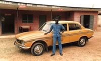 Peugeot 504 taxi brousse. Picture courtesy Flickr