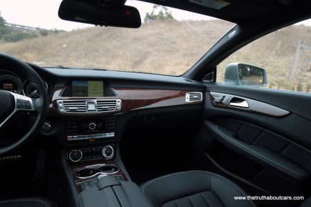 CLS Interior, driver'ss perspective