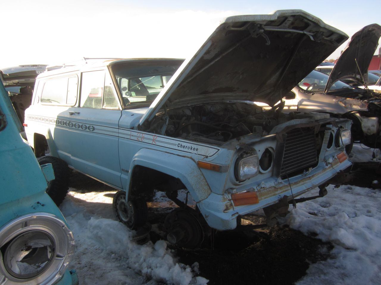 01 1979 jeep cherokee down on the junkyard pictures courtesy of phillip murilee