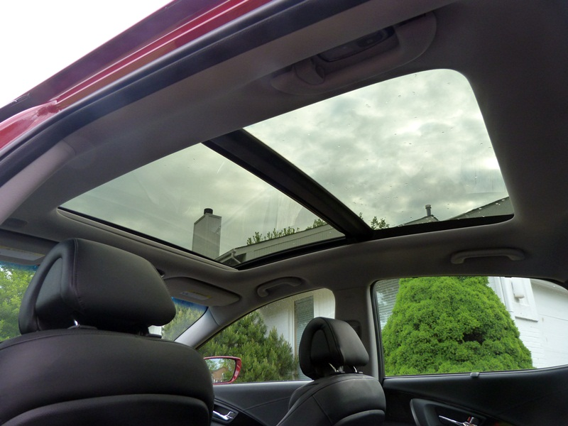 Azera Panoramic Sunroof Picture Courtesy Michael Karesh
