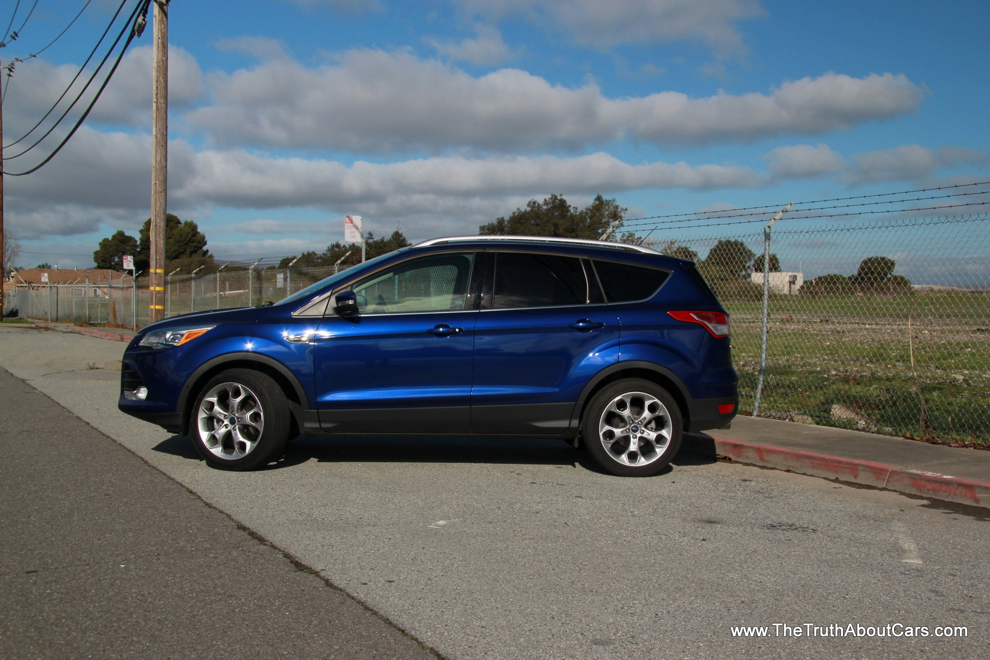 2013 ford escape titanium exterior side picture courtesy of alex l dykes