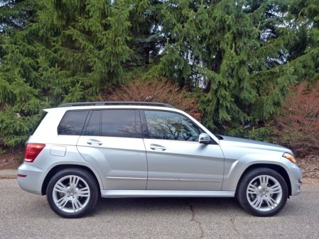 2013 GLK350 side, picture courtesy Michael Karesh