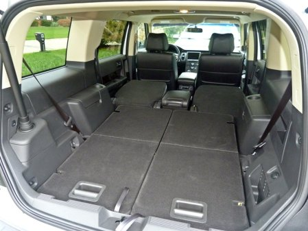 Ford Flex folded seats, picture courtesy Michael Karesh