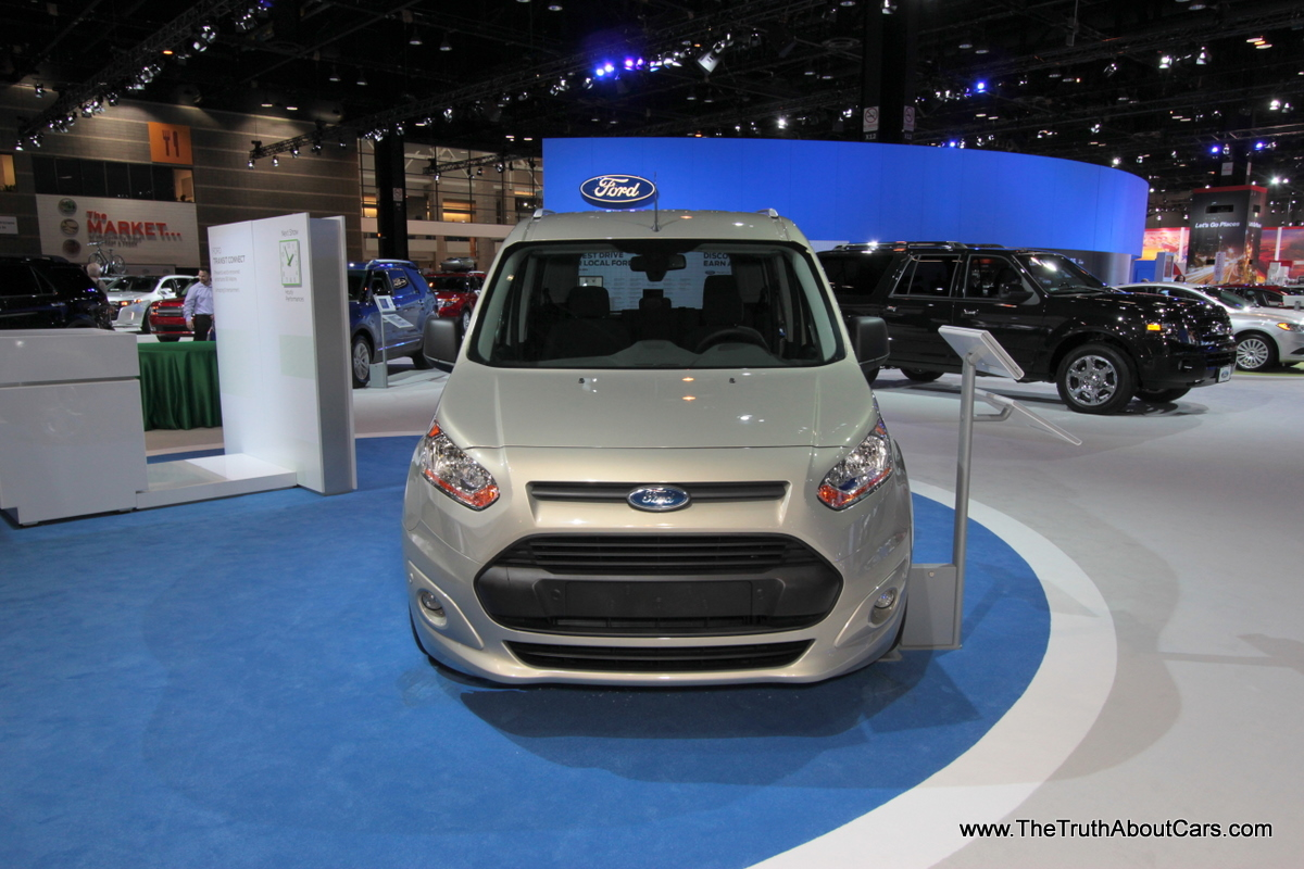 Chicago auto show 2014 ford transit connect wagon the truth