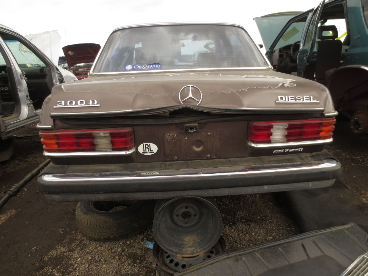 13 1978 mercedes benz 300d down on the junkyard picture courtesy of murilee