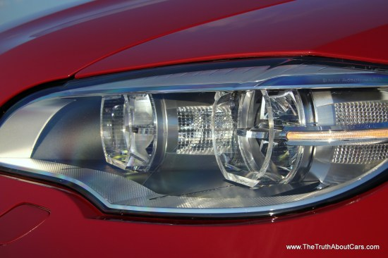 2013 BMW X6M Exterior LED Headlampsm, Picture Courtesy of Alex L. Dykes