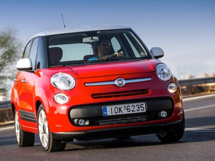 Fiat 500L. Picture courtesy of www.autowp.ru