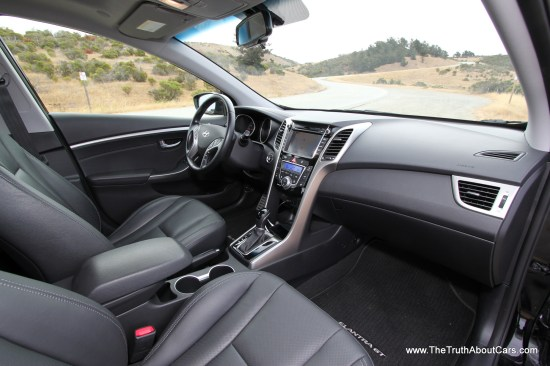 2013 Hyundai Elantra GT Interior, Picture Courtesy of Alex L. Dykes