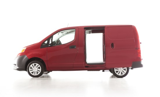 2013 Nissan NV200, Picture Courtesy of Nissan