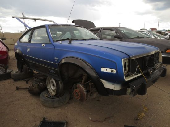 08 - 1982 AMC Eagle SX4 Down On the Junkyard - Picture courtesy of Murilee Martin