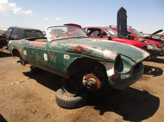 03 - 1967 MGB Down On The Junkyard - Picture courtesy of Murilee Martin