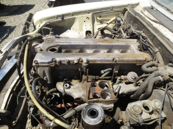 05 - 1974 Mercedes-Benz 280C Down On the Junkyard - Picture courtesy of Murilee Martin