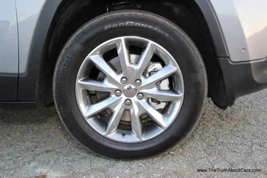 2014 Jeep Cherokee Limited Wheel