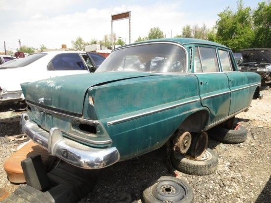 15 - 1966 Mercedes-Benz 230 Down On the Junkyard - Picture courtesy of Murilee Martin