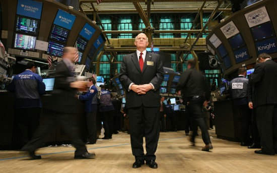 GM-CEO-Dan-Akerson-at-New-York-Stock-Exchange