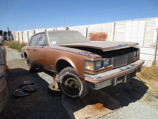 18 - 1978 Cadillac Seville Down On the Junkyard - Picture By Murilee Martin