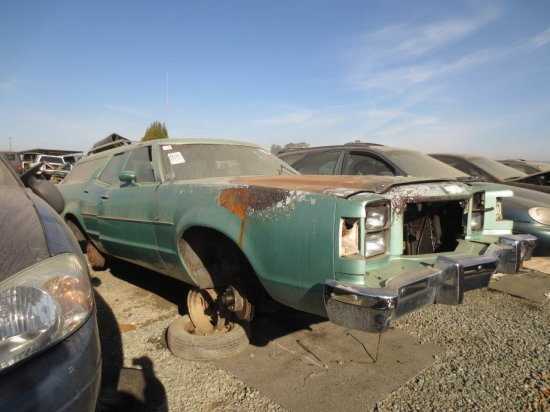 08 - 1977 Ford LTD wagon Down On the Junkyard - Picture courtesy of Murilee Martin