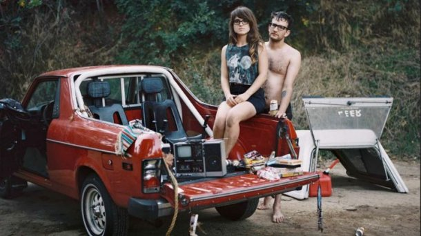 Millennials In The Back Of A Subaru BRAT