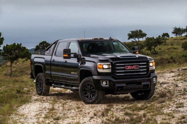 2017 GMC Sierra 2500HD All Terrain X, Image: General Motors