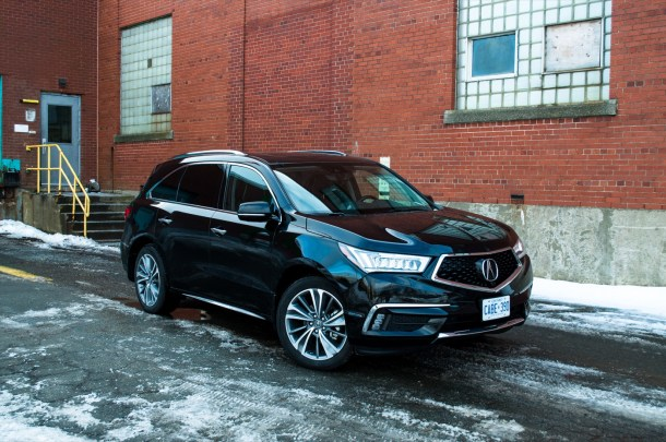 2017 Acura MDX black, Image: © Timothy Cain/The Truth About Cars