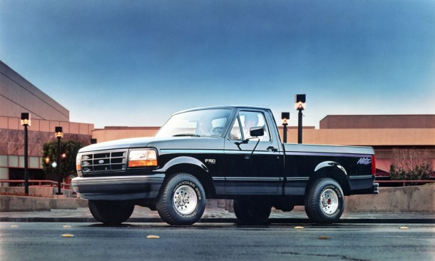 1992 Ford F-150 Nite Edition, Image: Ford