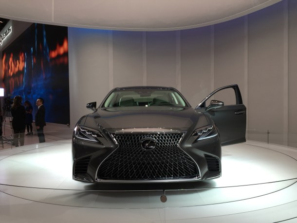 Lexus LS Detroit Auto Show, Image: © 2017 Sajeev Mehta/The Truth About Cars 2017