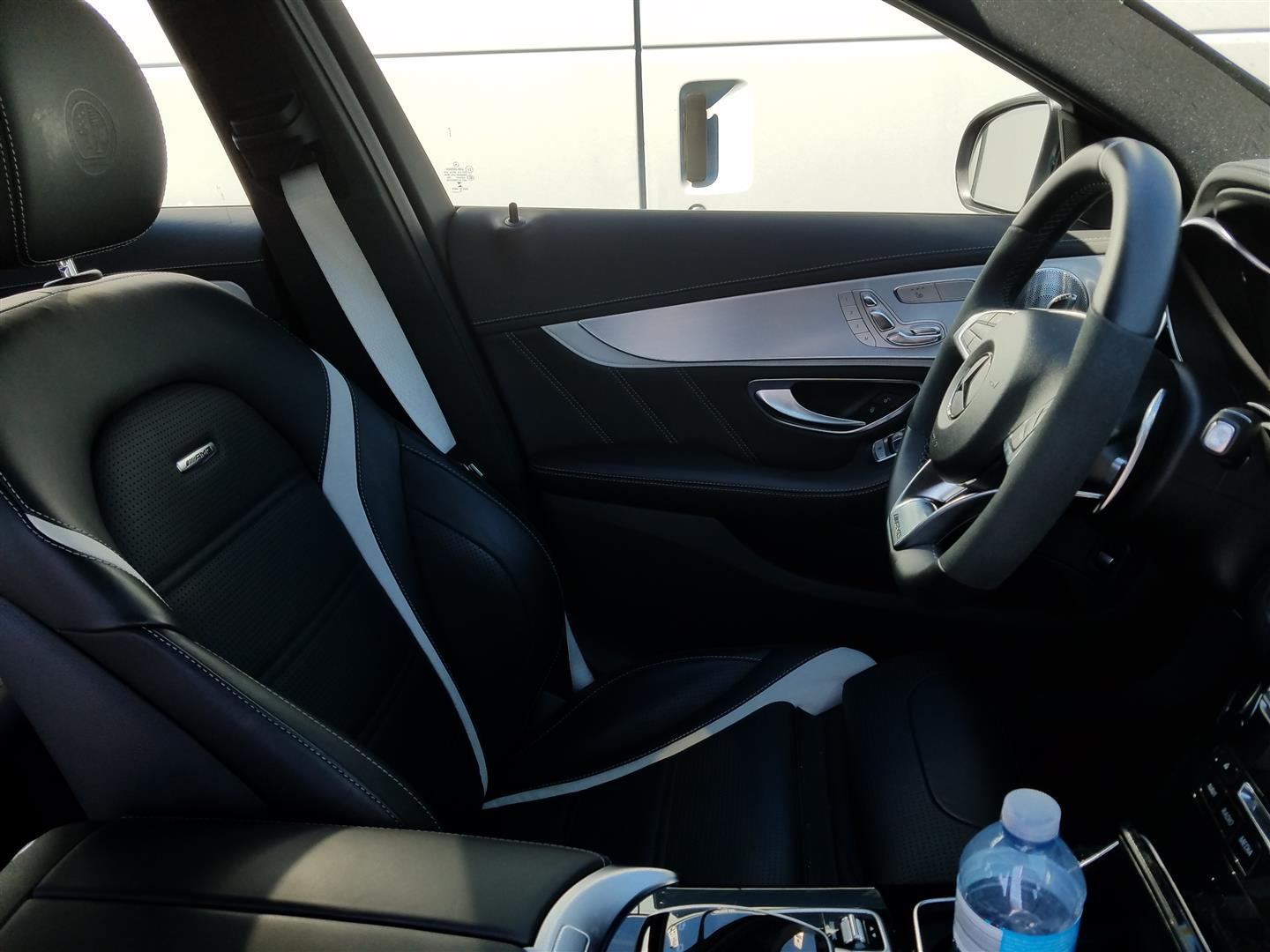 rental review 2017 mercedes amg c63 s sedan the truth about cars 2017 mercedes amg c63 s sedan at sebring interior driver s side image