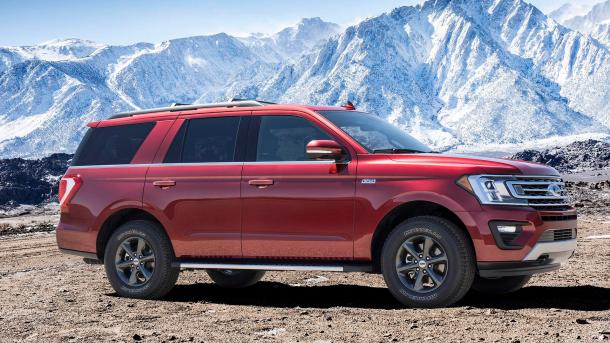 2018 ford expedition fx4, Image: Ford Motor Co.
