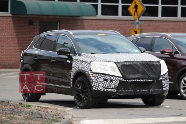 2018 Lincoln MKC , Image: © 2017 Spiedbilde/The Truth About Carse