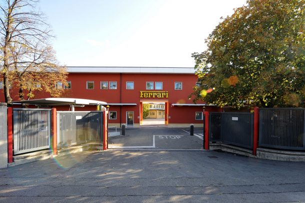 Original Ferrari Factory Entrance - Image: Ferrari