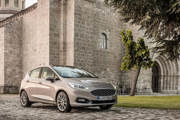 2017 Ford Fiesta Vignale - Image: Ford