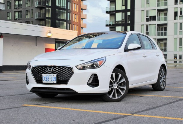 2018 Hyundai Elantra GT, Image: Steph Willems/The Truth About Cars