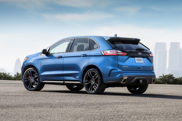 2019 Ford Edge ST, Image: Ford