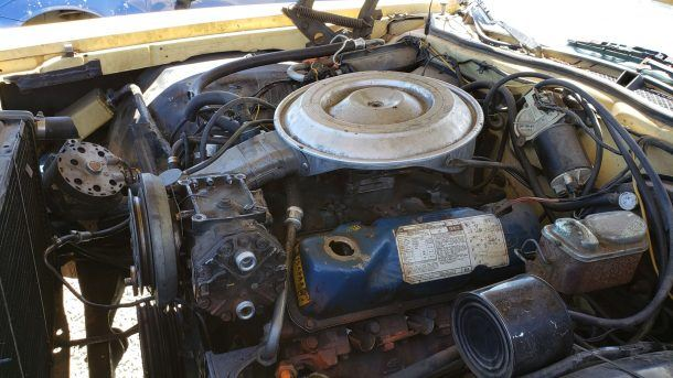 1979 Mercury Cougar XR-7 in California junkyard, 351M engine - ©2019 Murilee Martin - The Truth About Cars