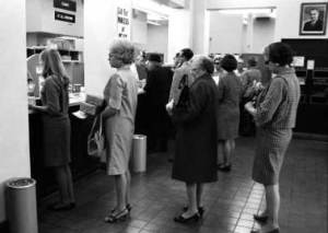 Is this the line for a bathroom break permit, or do you know?