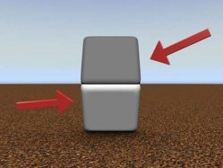 The blocks are the SAME color. Don't believe me? Cover the line with your finger.