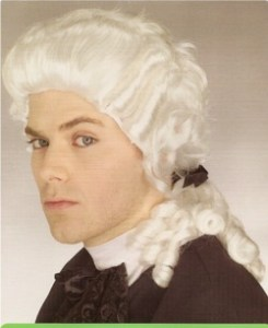 Here's an old law school shot of mine. I use to really be into the whole founding fathers fetish scene.
