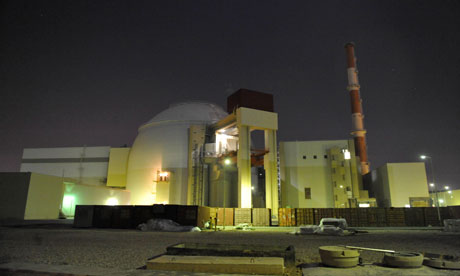 Bushehr nuclear plant. Click to enlarge