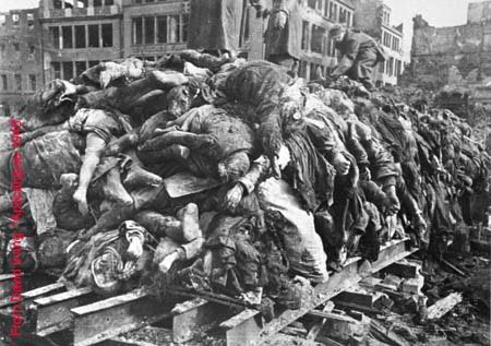 Dresden after allied bombing. Click to enlarge