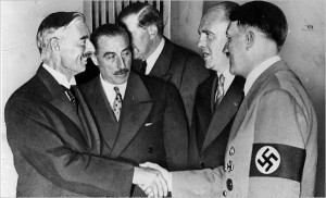 Hitler's skillful and honest diplomacy resolved the Alsace-Lorraine dispute to France's favor, and the Sudetenland problem to the benefit of all parties. Click to enlarge