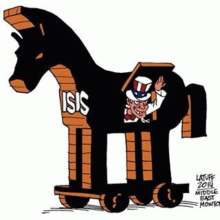 isis uncle sam cartoon