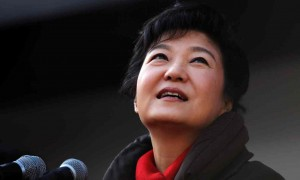 President Park Geun-hye. Click to enlarge