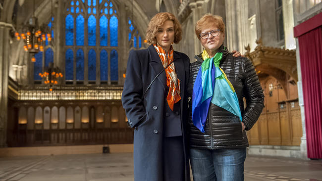 Rachel Weisz (left) plays Deborah Lipstadt in the film Denial. Click to enlarge